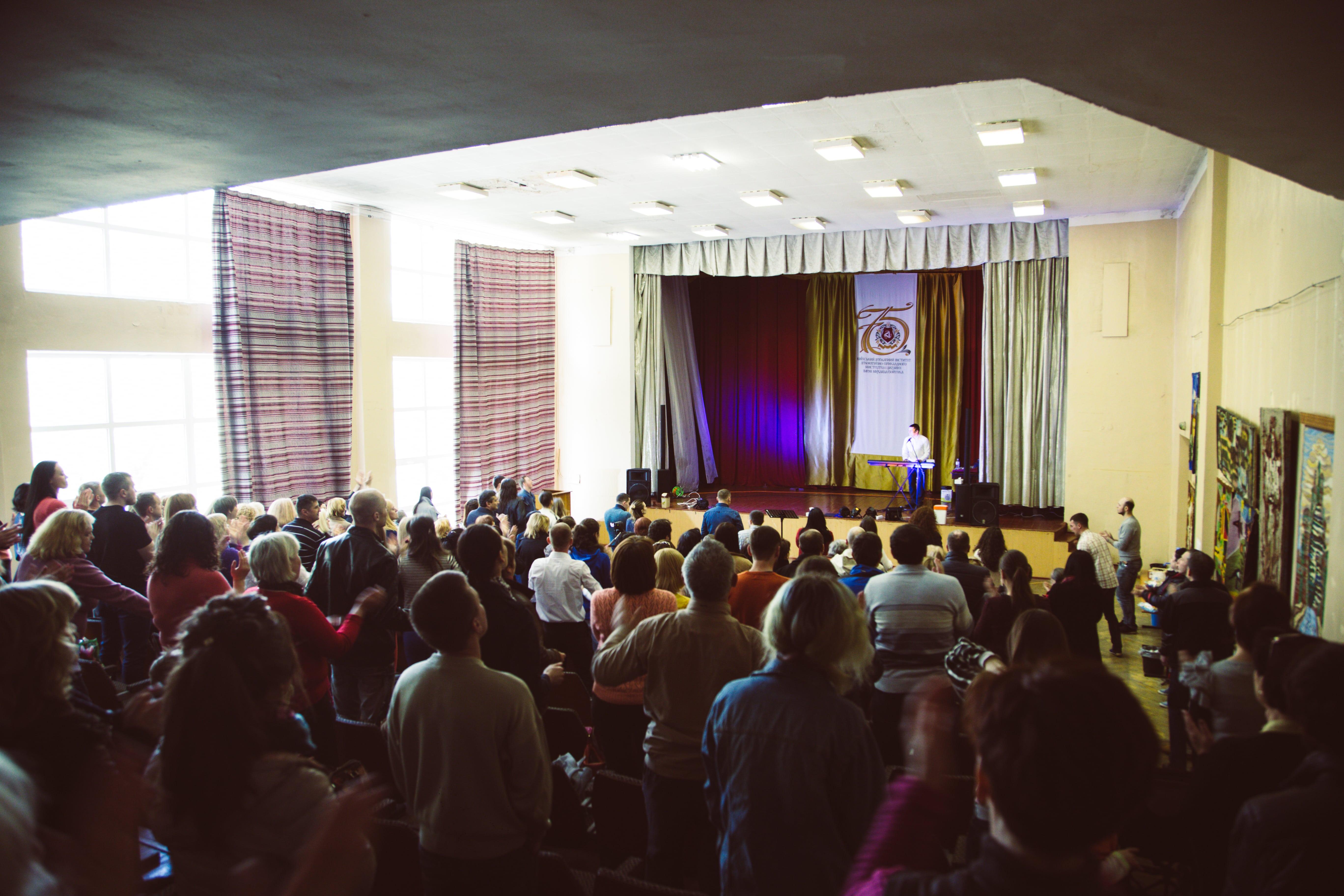 Фотографии служения — Киев