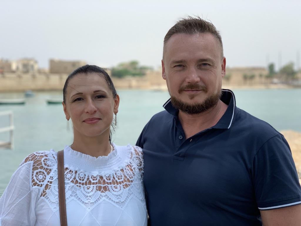 Пастора Церкви Вадим и Мариана Балевы.